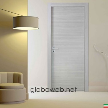 porte interne bianche e varie finiture Techwood Base rovere grigio globoweb
