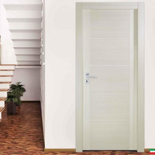 porte interne bianche e varie finiture Compost 4i con 4 inserti globoweb