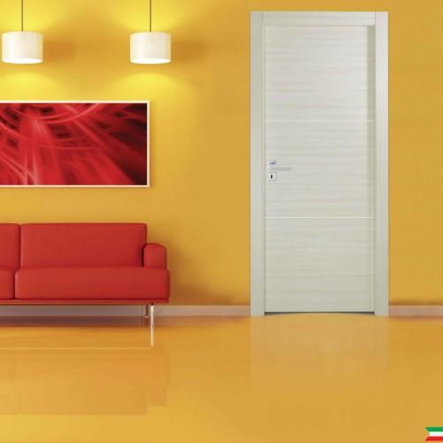 porte interne bianche e varie finiture Techwood Base 2i 2 inserti globoweb