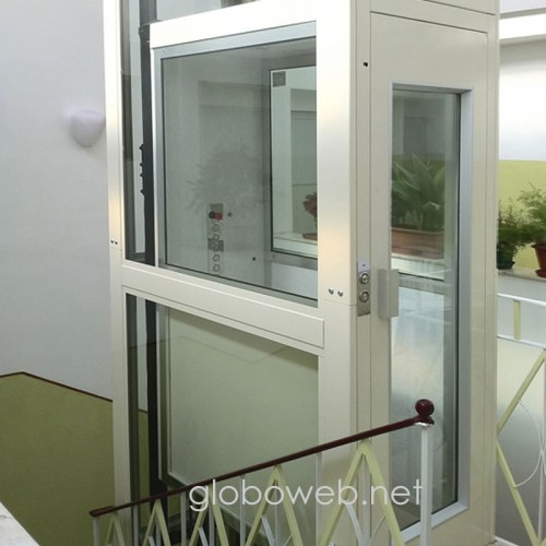 mini ascensori panoramico globoweb