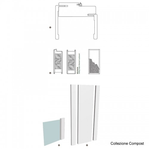 Porta Compost 3QP