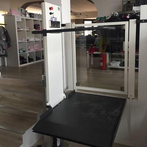 mini elevatori per disabili sl100 attività commerciale