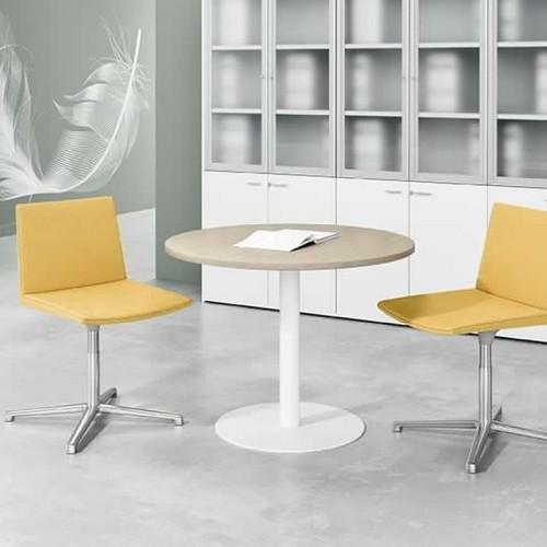 Seduta Semi-Direzionale Skyline braccioli e base alluminio